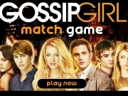 Jouer à Game gossip girl match game