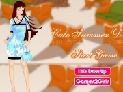 Jouer à Game cute summer dresses
