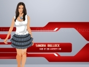 Jouer à Sandra Bullock Dress Up Game