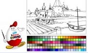 Jouer à Kinder coloring