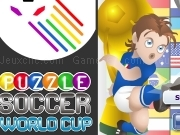 Jouer à Puzzle soccer world cup game