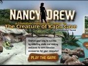 Jouer à Nancy Drew - the creature of Kapu cave