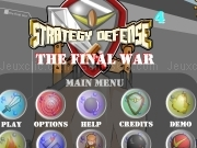 Jouer à Strategy defense 4 - the final war