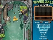 Jouer à Sewer ball pinball