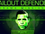 Jouer à Bailout defender - Obama mission