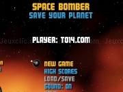 Jouer à Space bomber - save your planet