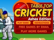 Jouer à Table top cricket - Ashes edition
