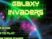 Jouer à Galaxy invaders