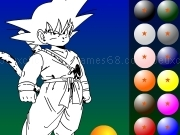 Jouer à Dragon ball coloring