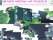 Jouer à Never grow up puzzle