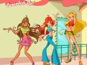 Jouer à Dress her up Winx club