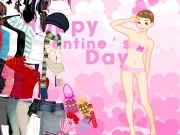Jouer à Happy valentines day dress up