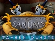 Jouer à Swords and sandals - Tavern quests