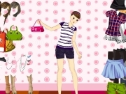 Jouer à Girl and bag dress up