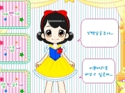 Jouer à Little snow white dress up