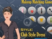 Jouer à Shp and dress mekeup matching game - Club style dress