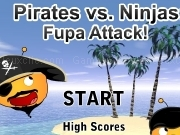 Jouer à Pirates vs ninjas - Fupa attack