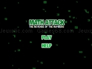 Jouer à Math attack - the revenge of the numbers