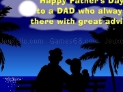 Jouer à Happy father day card