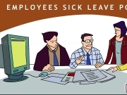 Jouer à Employees sick leave policy animation