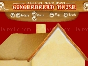 Jouer à Design your own gingerbread house