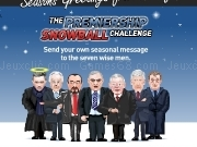 Jouer à Seasons greetings from kitbag - the premiership snowball challenge