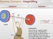 Jouer à Summer olympics facts - weightlifting