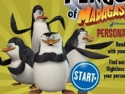 Jouer à The penguins of madagascar - personnality quiz