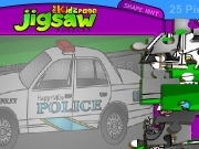 Jouer à Jigsaws puzzle - police car