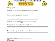 Jouer à Fiction learning contract