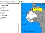 Jouer à African geography - learning level