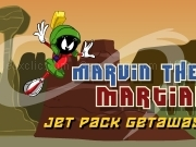 Jouer à Marvin the martians - jet pack getaway