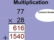 Jouer à Multiplication Facts 2x2 MP secure