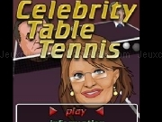 Jouer à Celebrity table tennis