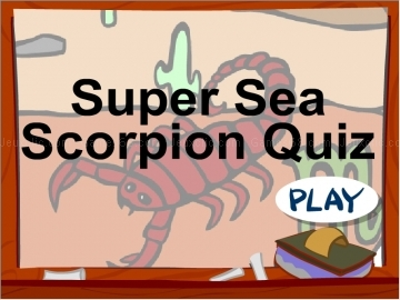 Jouer à Crazyquiz scorpion