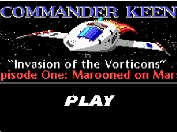 Jouer à Commander keen - invasion of the vorticons