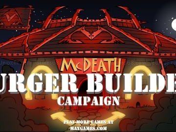 Jouer à Mc death burger builder campaign
